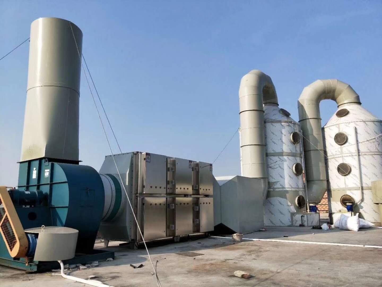 LZF-除尘环保激光喷淋塔2